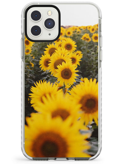Sunflower Field Photograph Impact Phone Case for iPhone 11 Pro Max