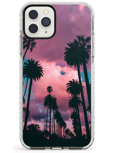 Palm Tree Sunset Photograph Impact Phone Case for iPhone 11 Pro Max