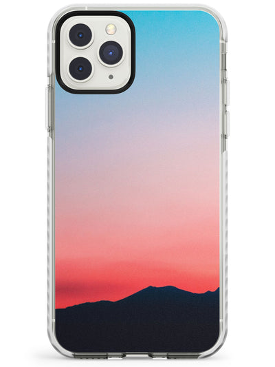 Pink & Blue Sunset Photograph Impact Phone Case for iPhone 11 Pro Max