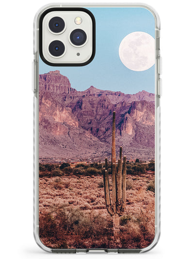 Full Moon Desert Photograph Impact Phone Case for iPhone 11 Pro Max