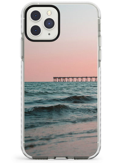 Beach Pier Photograph Impact Phone Case for iPhone 11 Pro Max