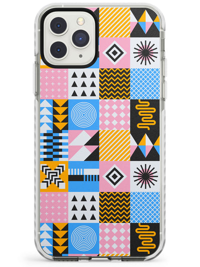 Pastel Puzzle Impact Phone Case for iPhone 11 Pro Max