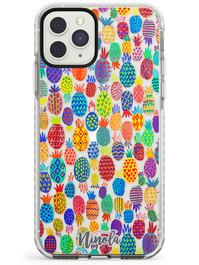 Cute Pineapples Impact Phone Case for iPhone 11 Pro Max