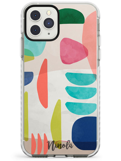 Organic Bold Shapes Impact Phone Case for iPhone 11 Pro Max