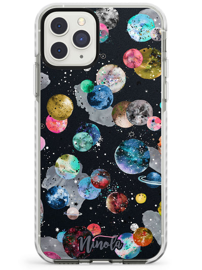 Space Planets Impact Phone Case for iPhone 11 Pro Max