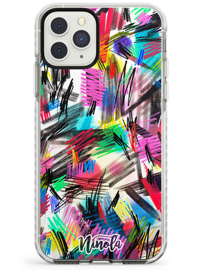 Wild Strokes Impact Phone Case for iPhone 11 Pro Max