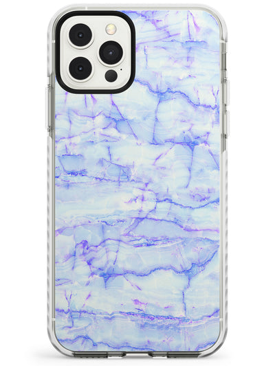 Purple & Blue Onyx Marble Texture Slim TPU Phone Case for iPhone 11 Pro Max