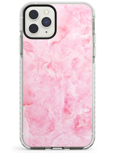 Bright Pink Onyx Marble Texture iPhone Case