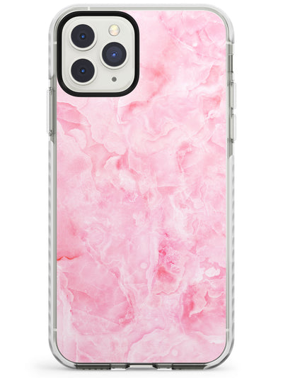 Bright Pink Onyx Marble Texture iPhone Case  Impact Case Phone Case - Case Warehouse