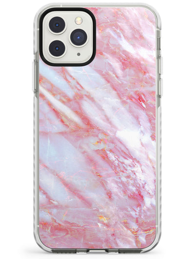 Pale Pink Onyx Marble Texture iPhone Case  Impact Case Phone Case - Case Warehouse