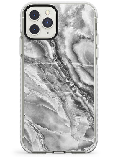 Grey Onyx Marble Texture Impact Phone Case for iPhone 11 Pro Max