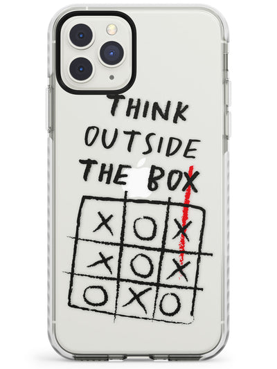 """Think Outside the Box"" Impact Phone Case for iPhone 11 Pro Max"
