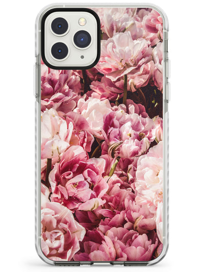 Pink Peonies iPhone Case  Impact Case Phone Case - Case Warehouse
