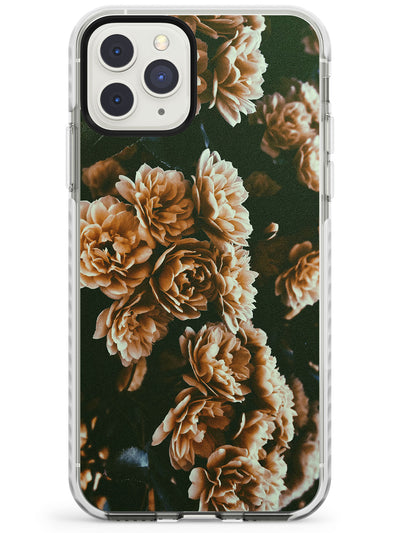 White Peonies - Real Floral Photographs Impact Phone Case for iPhone 11 Pro Max