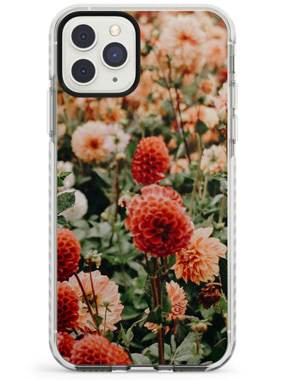 Red Flowers - Real Floral Photographs Impact Phone Case for iPhone 11 Pro Max