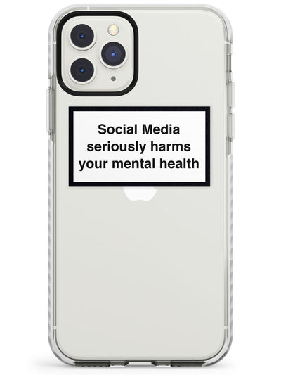 Social Media Quote iPhone Case  Impact Case Phone Case - Case Warehouse