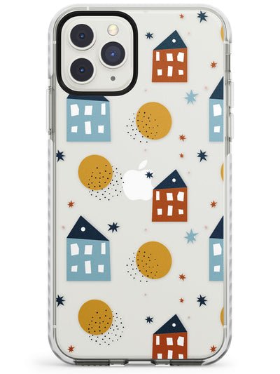 Scandinavian Houses Impact Phone Case for iPhone 11 Pro Max