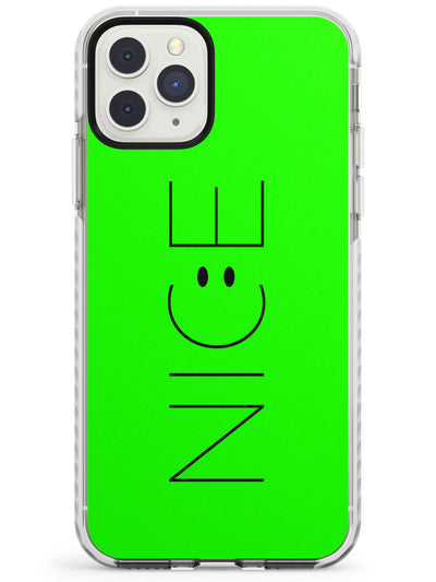 NICE Smiley Face Impact Phone Case for iPhone 11 Pro Max