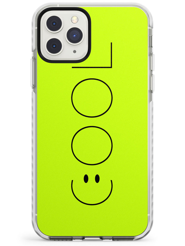 COOL Smiley Face Impact Phone Case for iPhone 11 Pro Max