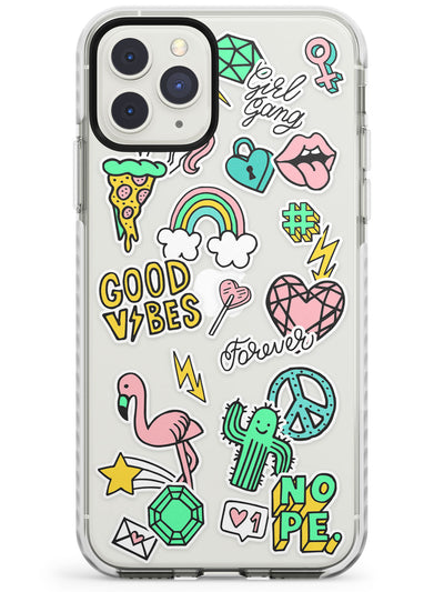 Good Vibes iPhone Case  Impact Case Phone Case - Case Warehouse