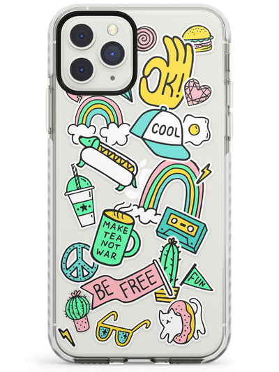 Be Free Sticker  iPhone Case  Impact Case Phone Case - Case Warehouse