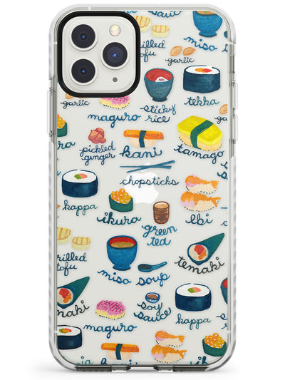 Japanese Food iPhone Case  Impact Case Phone Case - Case Warehouse