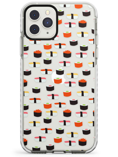 Minimalist Sushi Pattern iPhone Case  Impact Case Phone Case - Case Warehouse