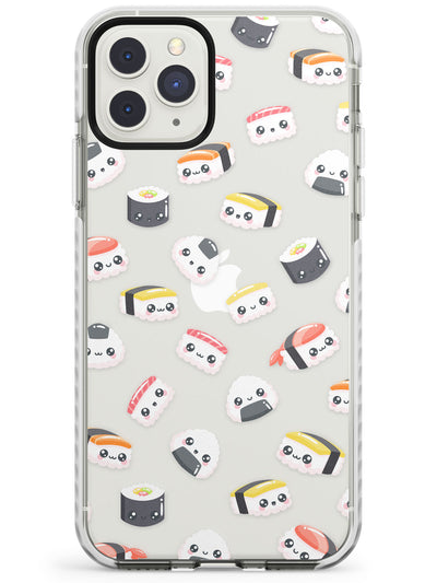 Kawaii Sushi & Rice iPhone Case  Impact Case Phone Case - Case Warehouse