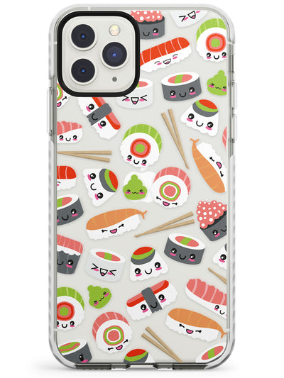 Kawaii Sushi Mix iPhone Case  Impact Case Phone Case - Case Warehouse