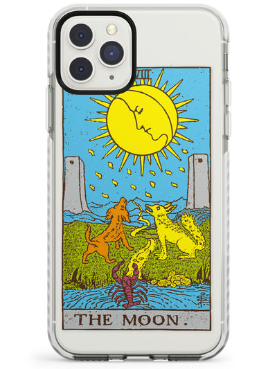 The Moon Tarot Card in Colour Impact Phone Case for iPhone 11 Pro Max
