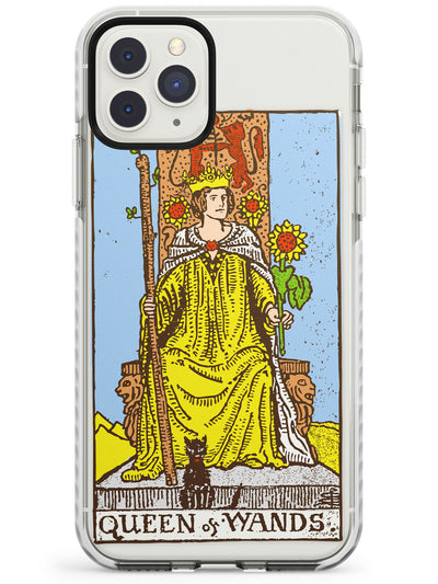 Queen of Wands Tarot Card in Colour Impact Phone Case for iPhone 11 Pro Max