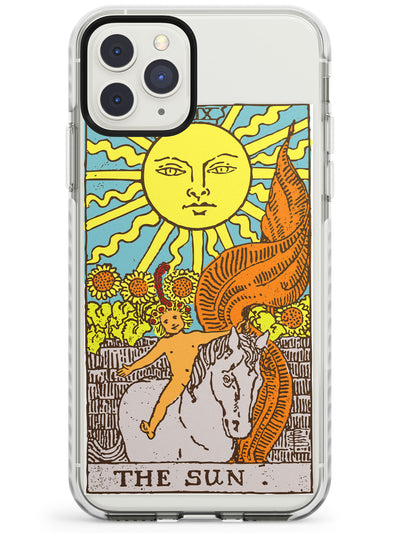 The Sun Tarot Card in Colour Impact Phone Case for iPhone 11 Pro Max