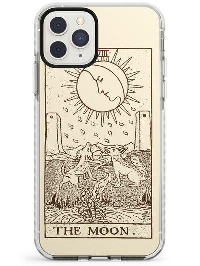 The Moon Tarot Card Cream Impact Phone Case for iPhone 11 Pro Max