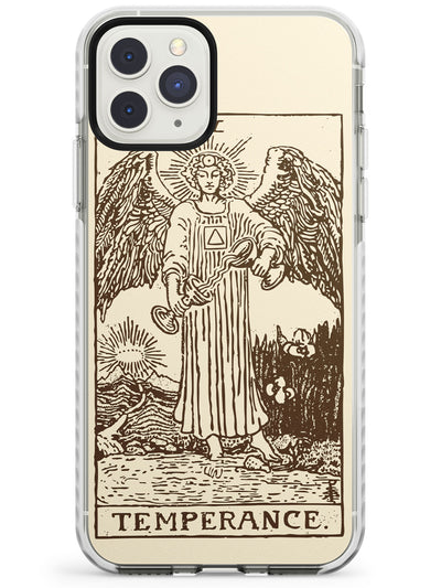 Temperance Tarot Card Cream Impact Phone Case for iPhone 11 Pro Max
