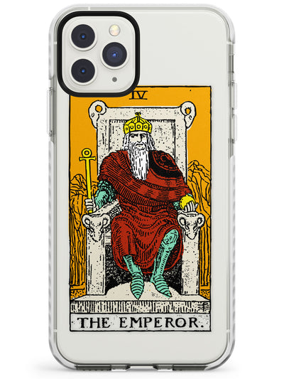 The Emperor Tarot Card in Colour Impact Phone Case for iPhone 11 Pro Max