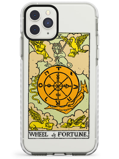 Wheel of Fortune Tarot Card in Colour Impact Phone Case for iPhone 11 Pro Max