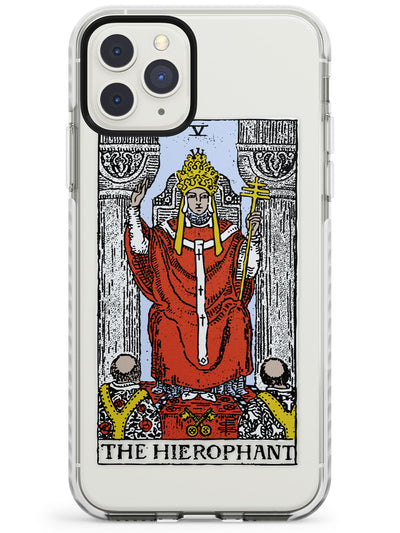 The Hierophant Tarot Card in Colour Impact Phone Case for iPhone 11 Pro Max
