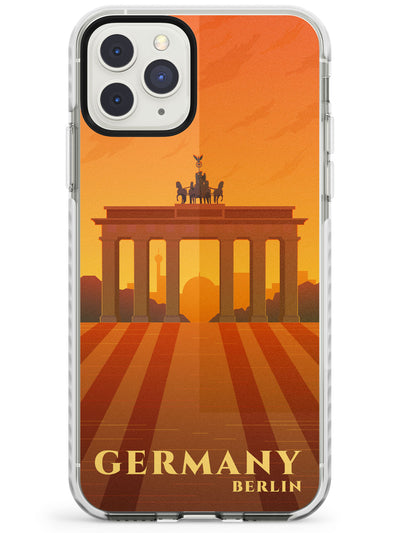 Vintage Travel Posters Berlin Impact Phone Case for iPhone 11 Pro Max