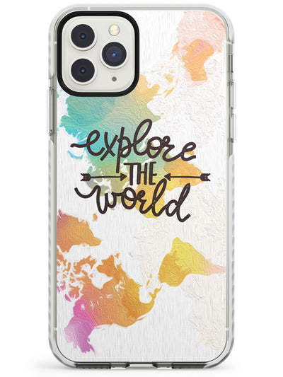 'Explore the World' iPhone Case  Impact Case Phone Case - Case Warehouse