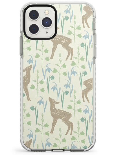 Sweet Fawns & Flowered Flora Impact Phone Case for iPhone 11 Pro Max