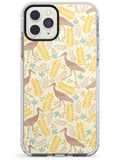 Crane Bird Impact Phone Case for iPhone 11 Pro Max