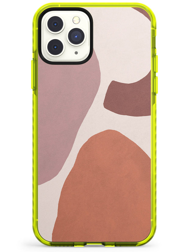 Lush Abstract Watercolour: Design #4 Neon Yellow Impact Phone Case for iPhone 11 Pro Max