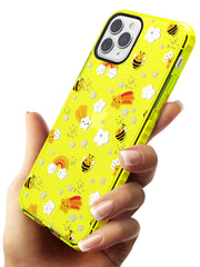 Busy Bee Neon Yellow Impact Phone Case for iPhone 11 Pro Max