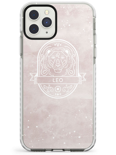 Leo Astrological Zodiac Sign - Pink Impact Phone Case for iPhone 11 Pro Max