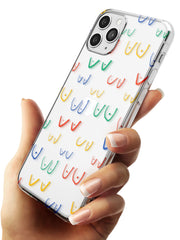 Boob Pattern (Mixed Colours) Slim TPU Phone Case for iPhone 11 Pro Max