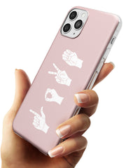 LOVE Sing Language Slim TPU Phone Case for iPhone 11 Pro Max