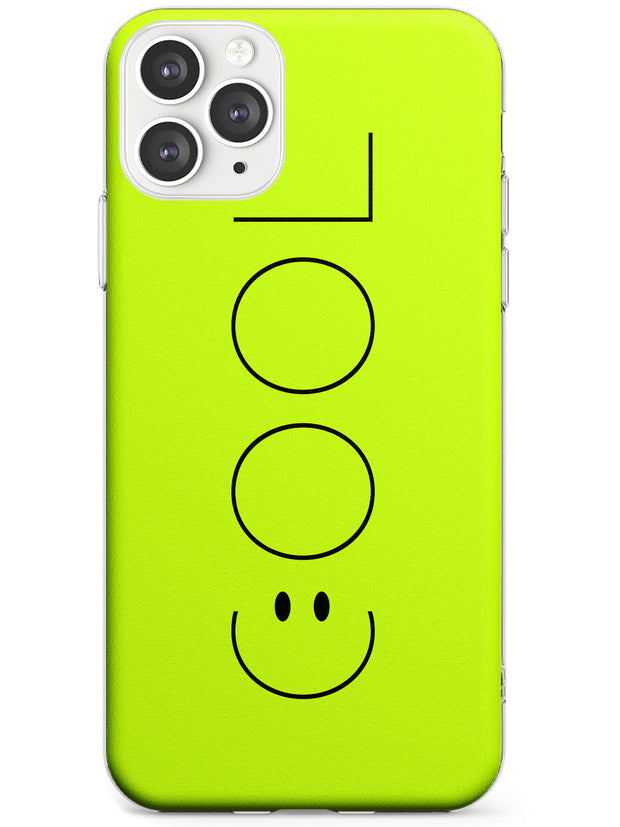 COOL Smiley Face Slim TPU Phone Case for iPhone 11 Pro Max