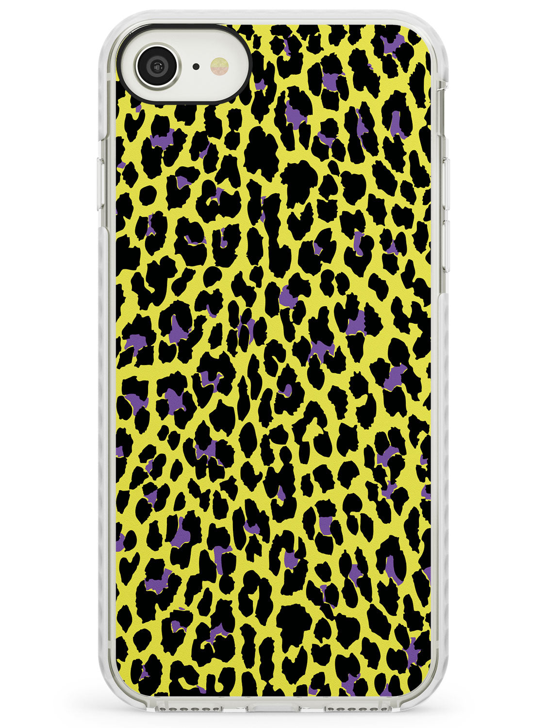 Purple on Yellow Leopard