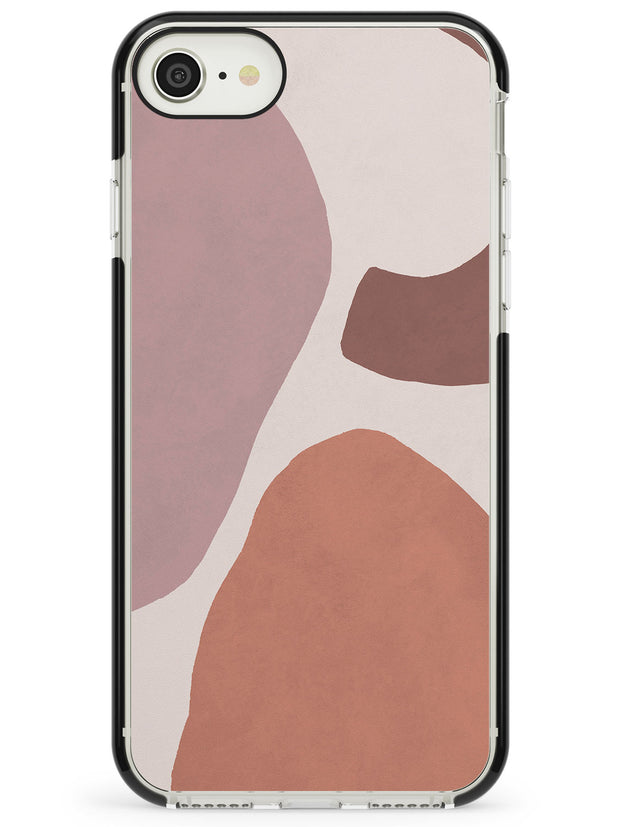 Lush Abstract Watercolour: Design #4 Black Impact Phone Case for iPhone SE 8 7 Plus