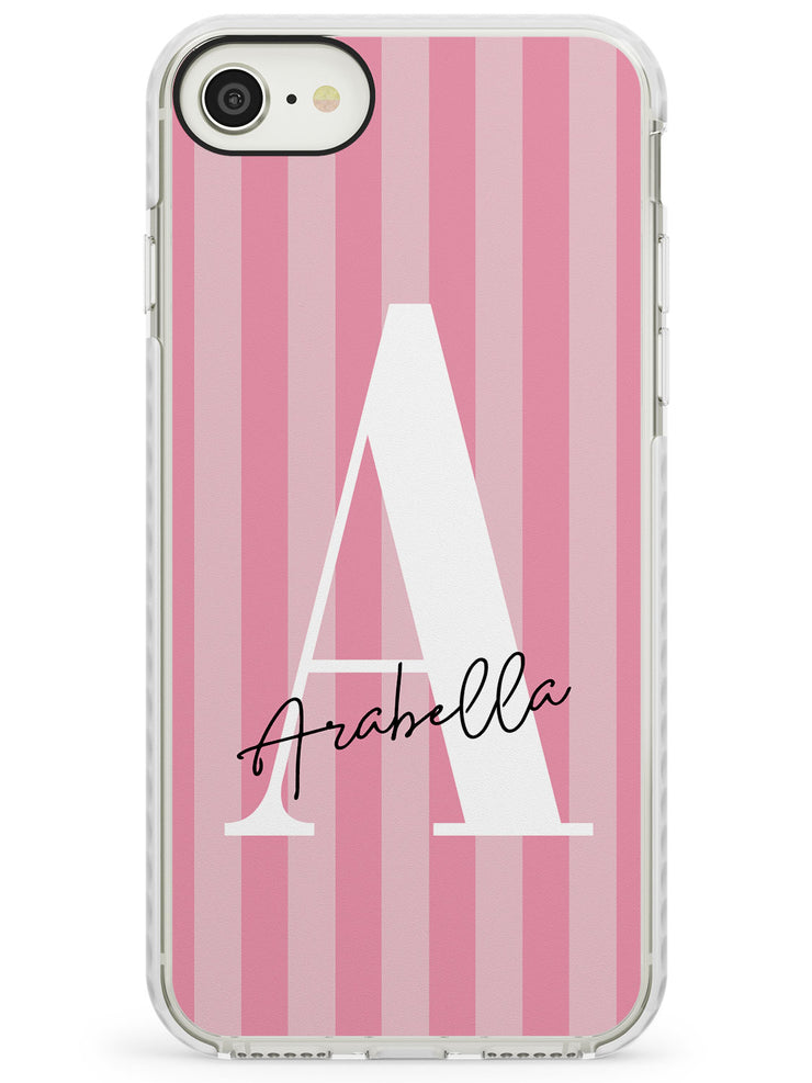 Pink on Pink Stripes iPhone Case by Case Warehouse ®